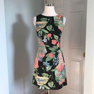 J. McLaughlin Floral Pottery Print Sheath Dress 2
